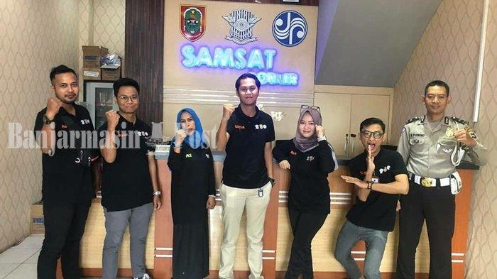 Kalselpedia: Samsat Corner Q Mall Banjarbaru, Permudah Masyarakat Urus Pajak Kendaraan