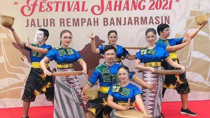 Sanggar Seni Nuansa Banjarmasin Meriahkan Festival Sahang 2021