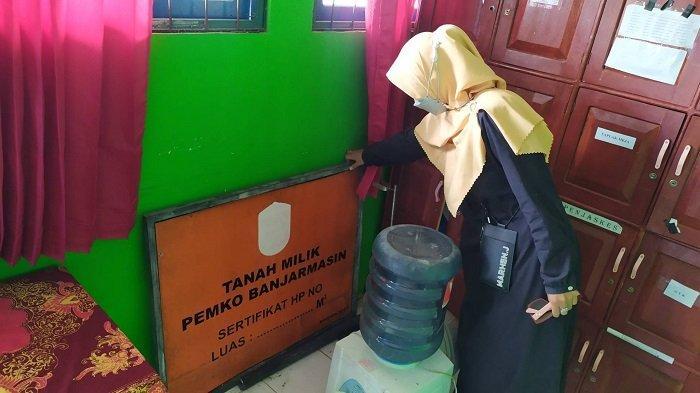 Fasilitas Sekolah Sering Dirusak, SDN Sungai Jingah 1 Banjarmasin Pasang CCTV