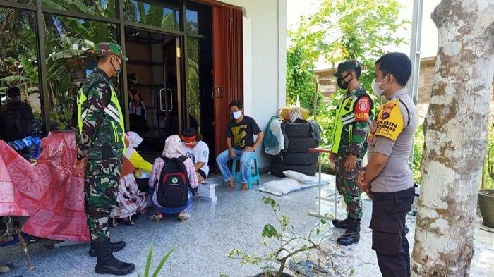20 Warga Desa Kapul Kecamatan Halong Balangan Terpapar Covid-19, Satgas Covid Lakukan Pengawasan