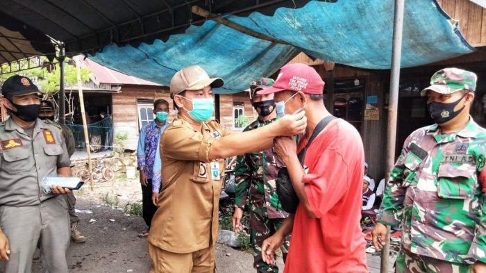 Disiplinkan Penerapan Prokes, Satgas Covid-19 Kecamatan Pugaan Tabalong Sasar Resepsi Perkawinan