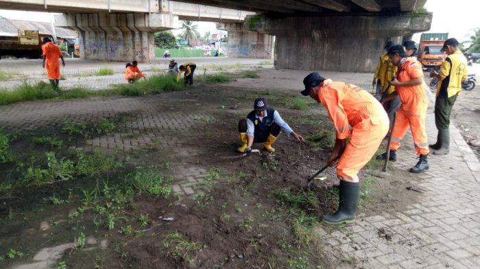Satgas Kebersihan Banjarmasin Selatan Beraksi Bersama Warga dari Empat Kelurahan
