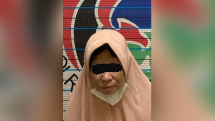 Narkoba Kalsel, Wanita Paruh Baya Bawa Ssabu Diciduk Satresnarkoba Polresta Banjarmasin