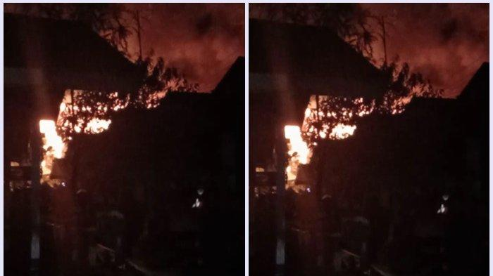 Jago Merah Mengamuk, Satu Rumah di Komplek Kebun Jeruk Kuin Utara Ludes Terbakar