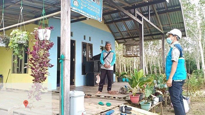 PLN Listriki 80 Kepala Keluarga di Desa Maju Bersama Kabupaten Tanbu