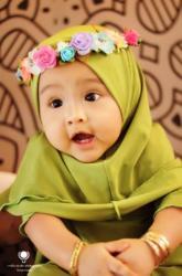 Bayi Berhijab Ini Punya Followersi Hampir 4 Ribu Banjarmasin Post