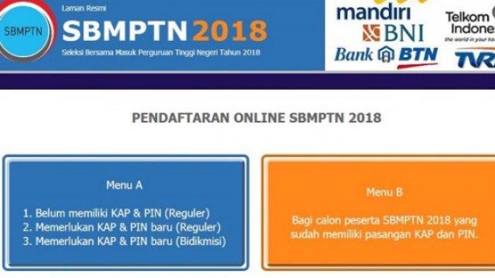 Masih Tersisa 8 Hari Lagi Untuk Tahu Cara Mendaftar Online SBMPTN 2018, Klik di Sini