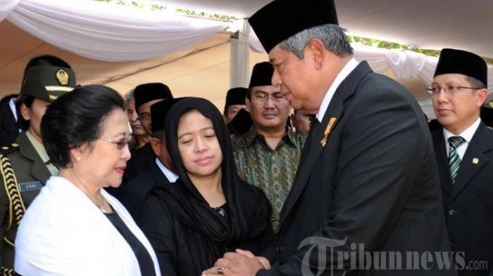 SBY dan Megawati Tak Bersalaman Sampai Bubaran Pelantikan