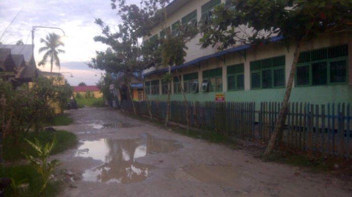 Bangunkan SMP Negeri di Semangat Dalam, Fasum Banyak yang Kosong