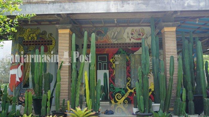 Wisata Kalsel, Berkunjung ke Taman Kaktus Marni di Wanaraya Kabupaten Batola