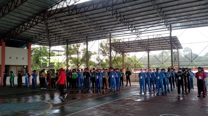 Sebanyak 128 pelajar SMA mengikuti seleksi anggota Pasukan Pengibar Bendera (Paskibra) yang dilaksanakan Dinas Pemuda, Olahraga dan Pariwisata (Disporapar) Kabupaten Hulu Sungai Utara (HSU), Kalimantan Selatan.