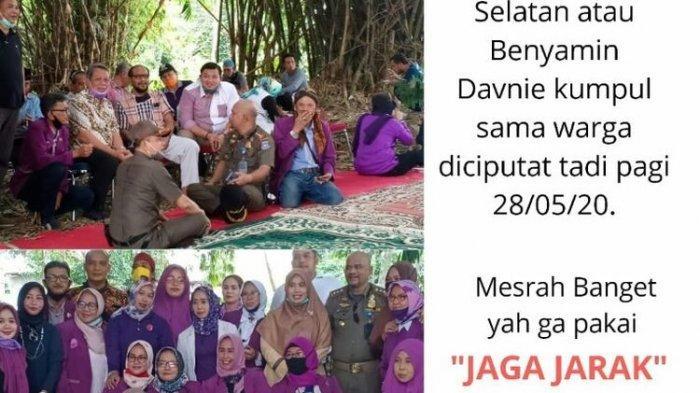 VIRAL Foto Wakil Wali Kota Tangsel Langgar Protokol Kesehatan, Berkumpul dan Tak Bermasker