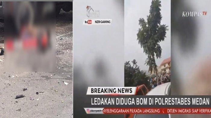 DAFTAR Teror Bom Bunuh Diri yang Pernah Terjadi di Indonesia, Ojol Pelaku Bom di Polrestabes Medan