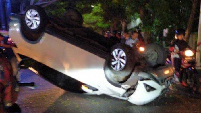 Toyota Rush yang Dikemudikannya Terbalik, Dosen Perguruan Tinggi Ini Meninggal