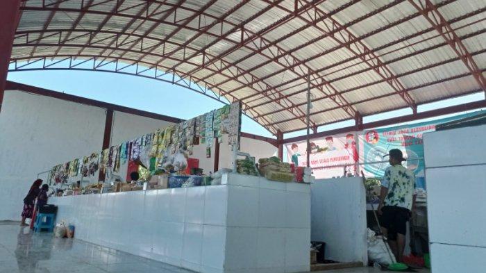 Sepekan Tempati Bangunan Baru, Pedagang Pasar Harian Mabuun Tabalong Merasa Lebih Nyaman