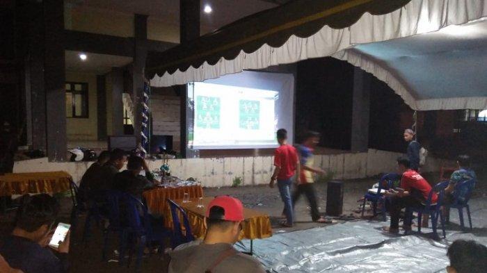 Serunya Nonton Bareng Final Piala Dunia 2018 di Banjar, Ada Games dan Tebak Skor