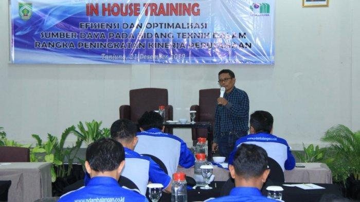 Optimalisasi SDM, PDAM Balangan Gelar In House Training Bidang Administrasi dan Teknis