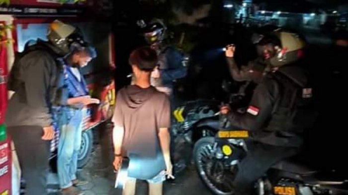 Narkoba Kalteng, Lima Remaja Terjaring Tim Patroli, Diduga Sedang Pesta Narkoba Dipinggiran Jalan