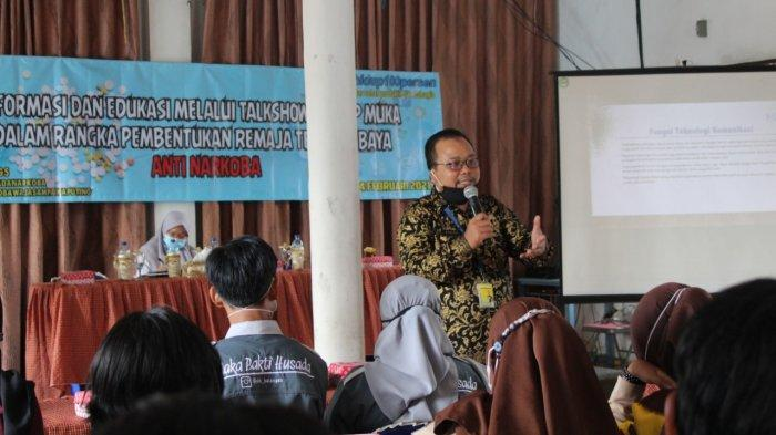 BNN Kabupaten Balangan Gelar Talkshow, Jamah Remaja untuk Perpanjangan Tangan P4GN