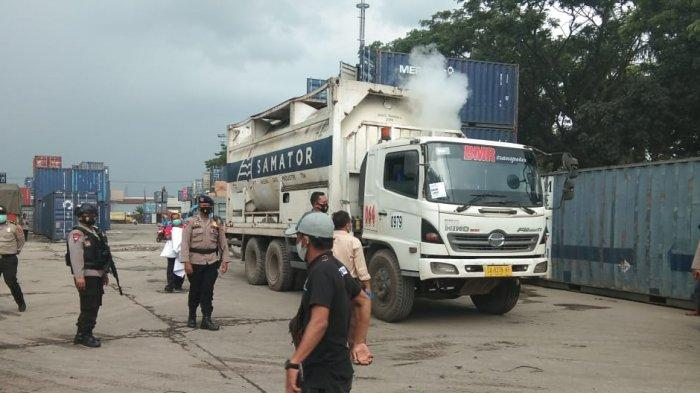 Enam Personel Polda Kalteng Kawal 20 Ton Liquid Oksigen Medis dari Perbatasan Kalsel