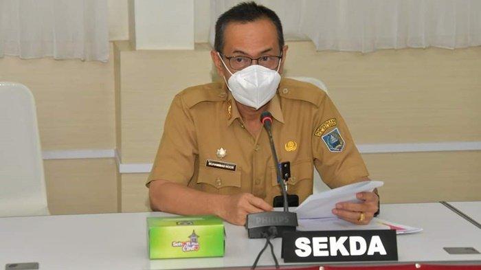 Sekda Kabupaten HSS Terima Kunjungan Anggota DRPD Provinsi Kalimantan Selatan