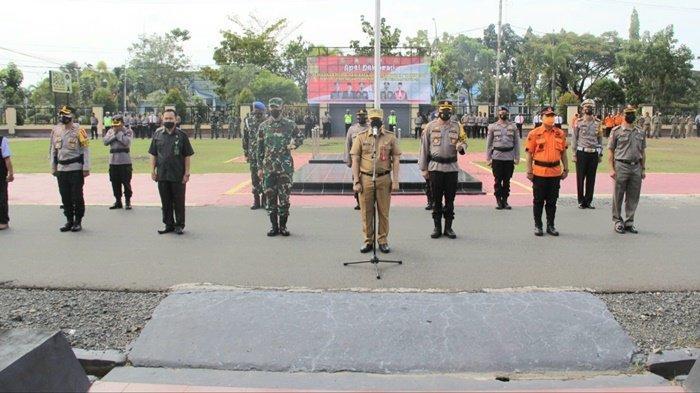 Sekda Kabupaten Kapuas Pimpin Deklarasi Peniadaan Mudik Lebaran 2021