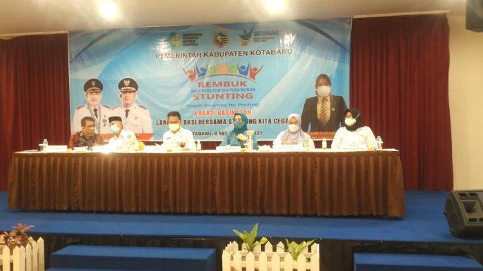Sekda Said Akhmad Resmi Membuka Rembuk Stunting Kabupaten Kotabaru