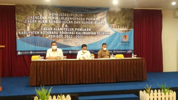 Sekdakab Kotabaru Said Akhmad (tengah) saar menghadiri kegiatan RPJP beberapa hari lalu