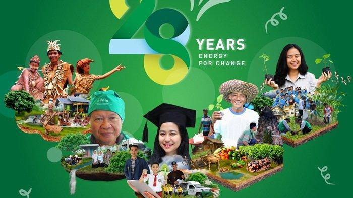 Anniversary 28 Years Adaro Energy For Change: Dari Kalimantan bagi Indonesia dan Dunia