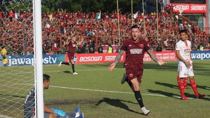 Ilustrasi pertandingan PSM Makassar.