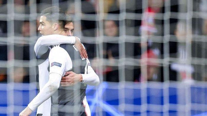 Hasil Liga Champions Grup D - Cetak Gol ke-128, Cristiano Ronaldo Bawa Juventus Menang
