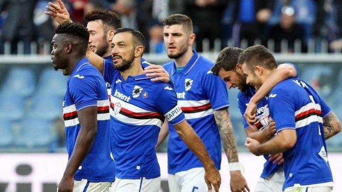 Liga Italia Makin Terpuruk akibat Pemain Terinfeksi Covid-19 Bertambah, Terbaru 4 Skuat Sampdoria