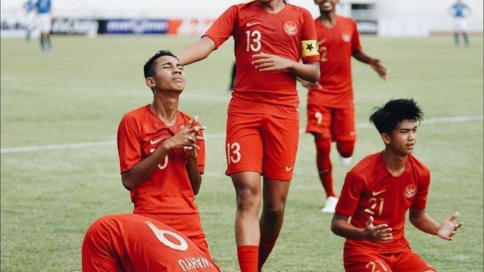 Hasil Timnas Indonesia U-15 Vs Thailand Semifinal Piala AFF U-15 di Babak Pertama, Skor Imbang 0-0