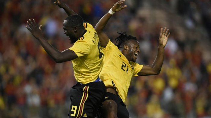 Hasil Laga Uji Coba Piala Dunia 2018 - Tiga Andalan Belgia Berikan Kemenangan Atas Kosta Rika
