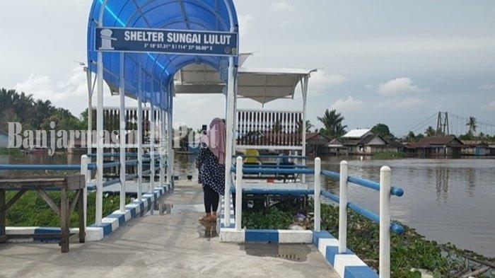 Wisata Kalsel, Selter Air di Banjarmasin Perlu Ditambah Taman dan Spot Foto