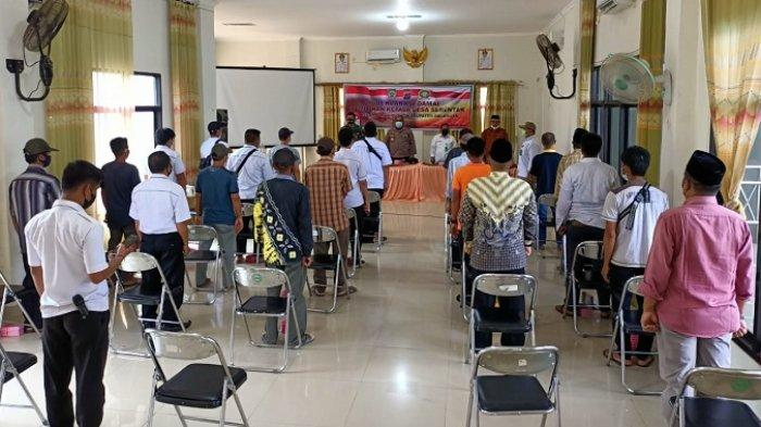 Jelang Pilkades, Calon Kades di Tiga Desa Kecamatan Halong Ini Deklarasikan Pilkades Damai