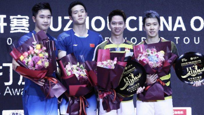 Final Fuzhou China Open 2018 - Lawan China, Marcus/Kevin Sempat Sempat Gagal Keluarkan Kekuatan