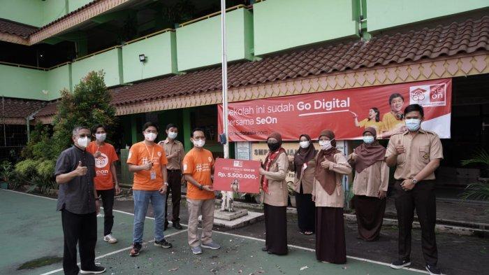 SeOn Lakukan Kunjungan ke Sekolah, Bantu Proses Pendidikan Lewat Platform Digital