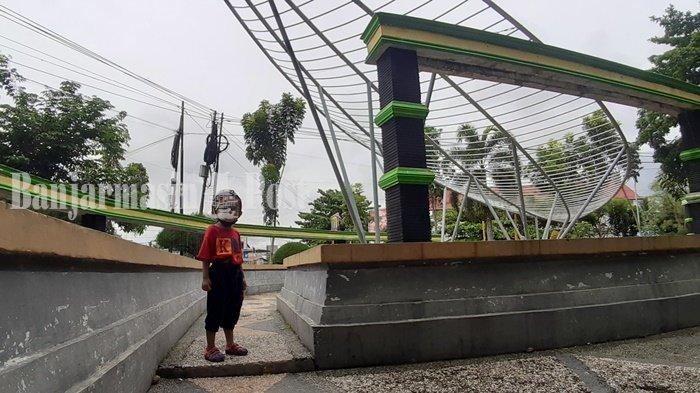 Wisata Kalteng, Taman Daun Kapuas Tempat Alternatif Tempat Santai di Kota Air