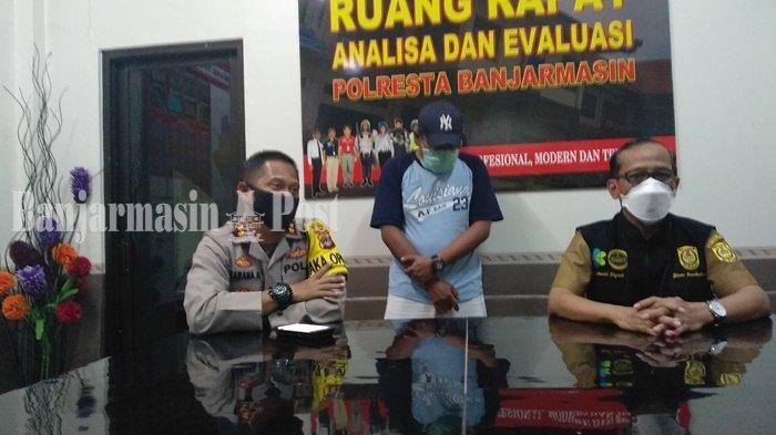 Polresta Banjarmasin Tahan Montir karena Sebarkan Hoaks Terkait PSBB