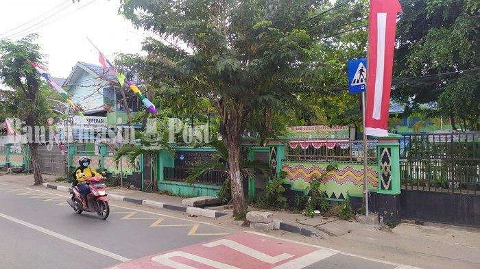 Dua Siswa SDN Pasar Lama 1 Banjarmasin Bergejala Covid-19, Putuskan  Pembelajaran Jarak Jauh