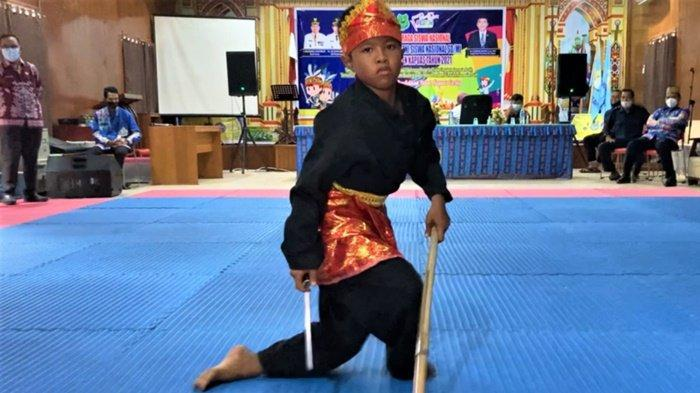 Lestarikan Pencak Silat di Kabupaten Kapuas Melalui Kompetisi Olahraga Siswa Nasional