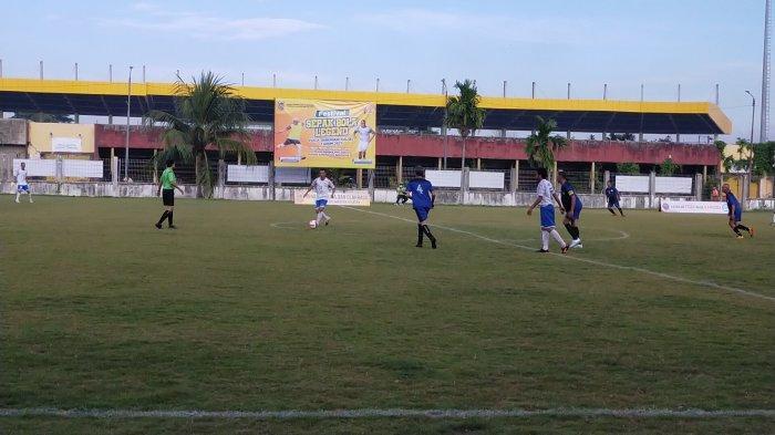 Old Star Tala Taklukan Asus FC, Sukamta Cetak Satu Gol