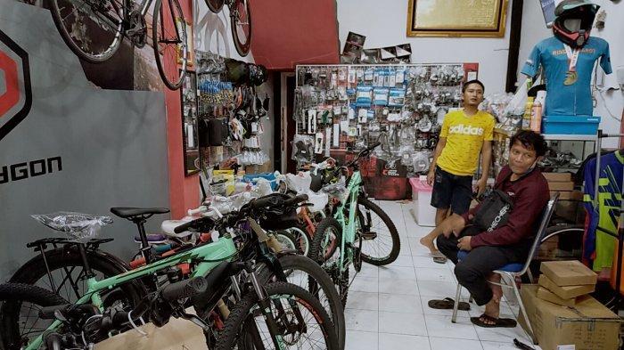 Olahraga Gowes Paling Digemari, Toko Sepeda di Sampit Kotim Sering Kehabisan Stok