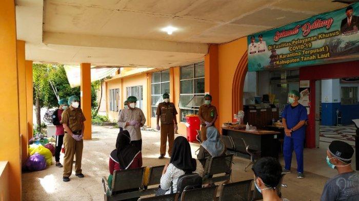 Satu Balita Pasien Covid Sembuh, Lima Masih Dirawat di Fasyansus Tanahlaut Bersama Orangtua