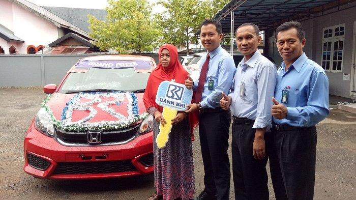 Raih Honda Brio Undian BRI SImpedes, Mardinah: