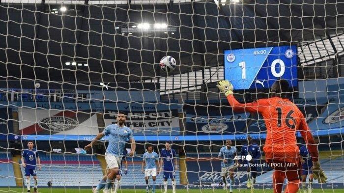 Kata Aguero Soal Penalti Panenka Gagal di Laga Man City vs Chelsea, Pep Guardiola Beri Tanggapan