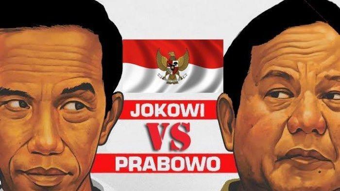 Hasil Quick Count Pilpres 2019 Jokowi vs Prabowo Hampir 100 %, Ini Data Litbang Kompas Sementara