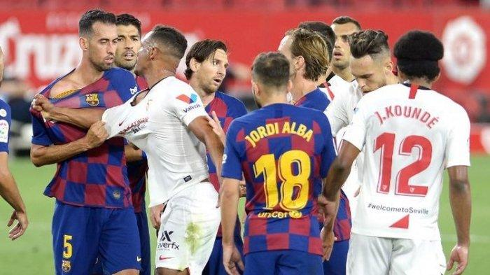 Prediksi & Link Streaming Sevilla vs Barcelona Liga Spanyol Live Bein 1, Ajang Balas Dendam Messi cs