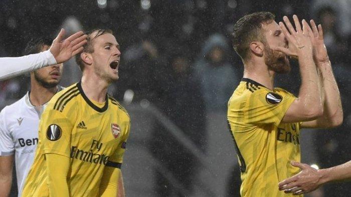 Hasil Guimaraes Vs Arsenal Liga Europa, Gol Injury Time Bikin Arsenal Gagal Genggam Rekor Sempurna